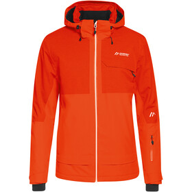 Maier Sports Dammkar Pure Jacket Men, cherry tomato